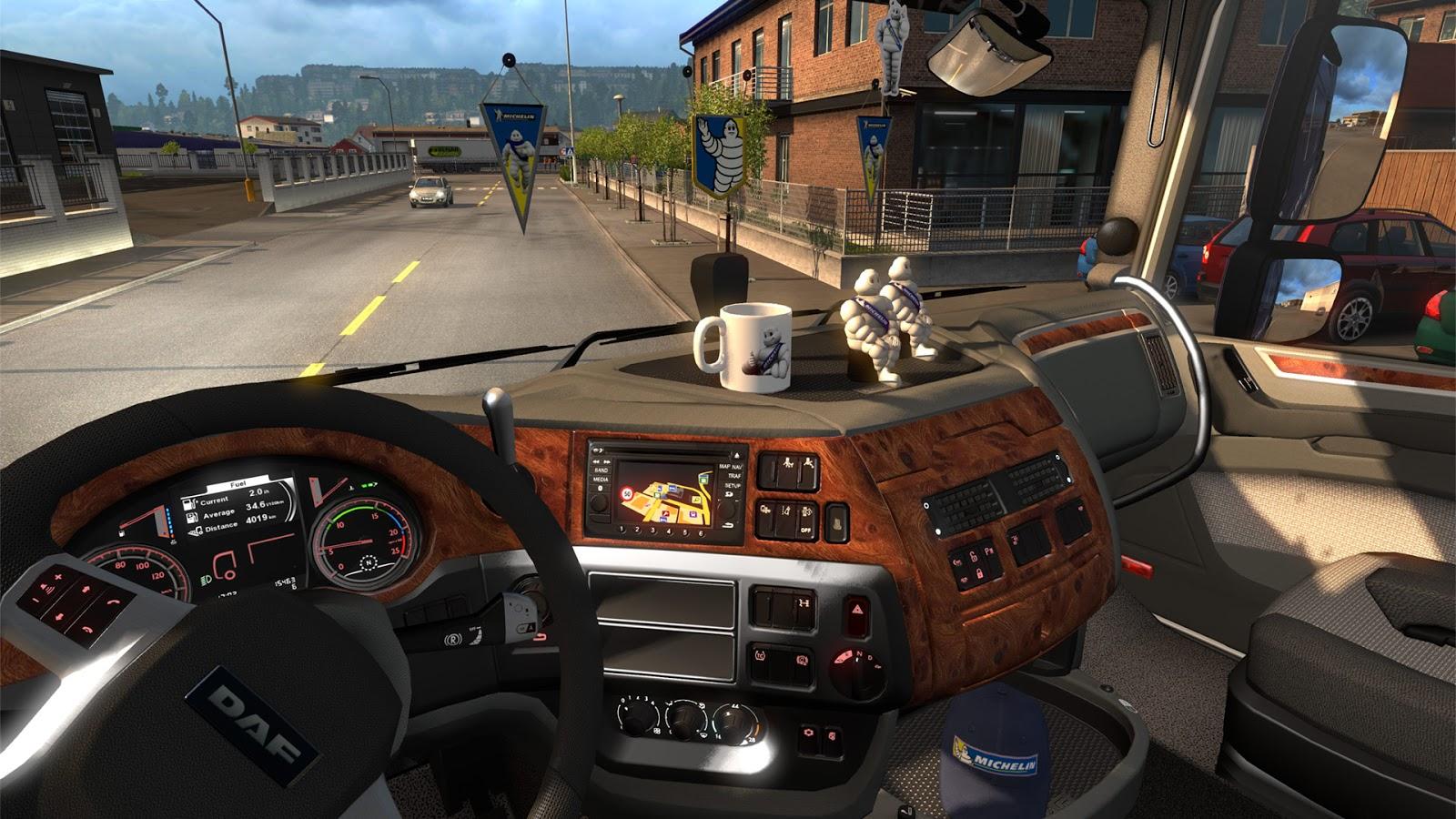 تحميل لعبة euro truck simulator 2 من ميديا فاير للاندرويد - فيند