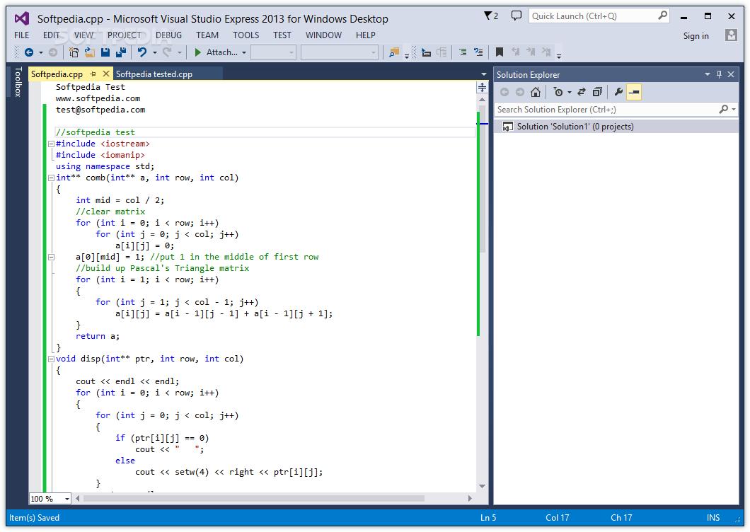 Visual Studio 2010 Express تحميل