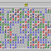 تشغيل لعبة minesweeper